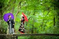 京都・下鴨神社前撮りプラン「糺の森」