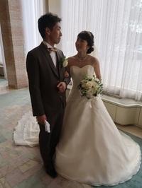 ご入場はまさかのこの方と・・・|素晴らしきかな結婚式(539)