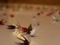 折り鶴|ハイアットリージェンシー京都の結婚式