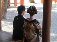 京都・吉田神社の結婚式