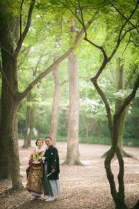 結婚式当日の挙式前ロケ撮影について